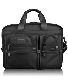Tumi T-Pass™ Expandable Laptop Brief  - perfect for overnight business trips, no need to take laptop out of the briefcase at security