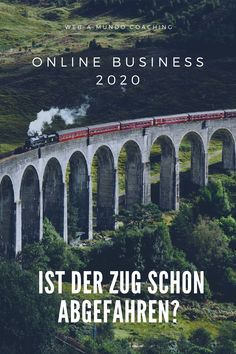 Online Business 2020 - Ist der Zug schon Abgefahren?  #onlinebusiness #erfolg #onlinebusinessaufbauen #onlinebusinessideen #coaching #coachingberatung Coaching, Influencer, Motivation, Content Marketing, Online Business, Website, Building, Train, Concept