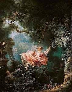 Jean-Honore Fragonard's most famous painting, The Swing, has gained recent interest thanks to Disney's animators, being the inspiration for the art style
