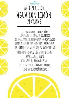 Conoce los beneficios de tomar agua con limón en ayunas cada mañana.