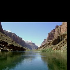 My rafting trip down the Grand Canyon.