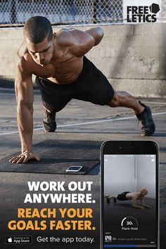 Freeletics Bodyweight is the most effective fitness training program, adapted to your schedule, your fitness level and your goals, whether you want to build muscle or simply get in better shape. Download the app today and join a community of more than 14 million users.