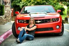 Senior pictures with car