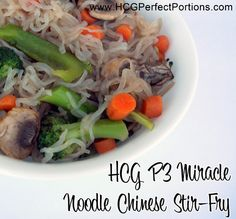 Great recipe for phase 3 of the HCG Diet if you are craving Chinese food! http://www.hcgperfectportions.com/