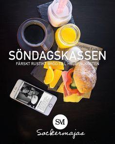 Nu är det dags igen efter semestern. I denna veckas Söndagskasse den 14/8 levererar jag nybakade Surdegsfrallor Köpenhamnare och kardemummabulle med blåbär och citron samt vaniljkräm 150:-. Hemleverans i Hästeviksområdet mellan 8.00-9.00 samt 9.00-10.00. Gå gärna in på min hemsida och läs mer.