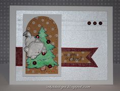 Naughty or Nice? Kitty card by Indy's Designs | Naughty Newton stamp set by Newton's Nook Designs #newtonsnook