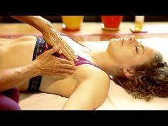 Lymph Drainage Breast Massage Therapy Technique How To, Athena Jezik Psychetruth