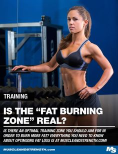 Is there an optimal training zone you should aim for in order to burn more fat? Learn everything you need to know about optimizing fat loss in your training!