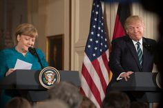 Merkel says the US and UK can no longer reliable partners