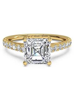 This Perfect Princess Cut Russian Lab Diamond Ring is styled with details to SPARKLE! Russian lab diamonds are grown by a proprietary process that recreat Pear Shaped Engagement Rings, Princess Cut Engagement Rings, Beautiful Engagement Rings, Engagement Ring Settings, Diamond Engagement Rings, Eternity Ring Diamond, Diamond Wedding Bands, Wedding Rings, Diamond Rings
