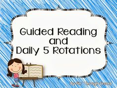 Guided Reading and Daily 5