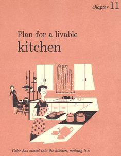 THE Manual for 50's kitchen design