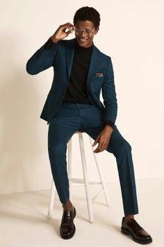Stylish men's suit, wedding and office suit.