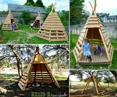 You're never too old for a Pallet Teepee. Click the link for all the ideas and Pin your favorites :) http://thewhoot.com.au/whoot-news/diy/pallet-teepee-tutorial