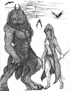vampire hunter and her pet by sioSIN on DeviantArt
