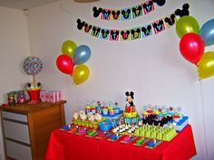 "mickey boy party | of 33: Mickey Mouse Clubhouse / Birthday ""Oliver's 3rd Birthday Party ..."