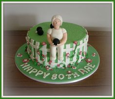 --- Bowling Birthday Cakes, Dad Birthday Cakes, 80th Birthday, Fondant People, Sports Themed Cakes, Bowl Cake, Cake Craft, Lemon Cookies, Chocolate Ganache