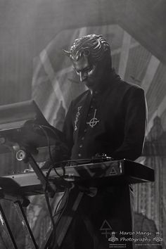 Air Ghoul. His keyboard completes the amazing sound of Ghost's music.