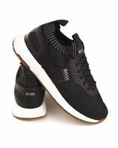 Zapatillas HUGO BOSS ® Titanium Runn ✶ Negro | ENVIO GRATIS Hugo Boss, Adidas Iniki, Styles, Joggers, Tennis, Daddy, Shoes Sneakers, Babies, Outfit