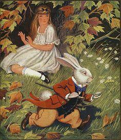 Milo Winter, Alice In Wonderland, 1924