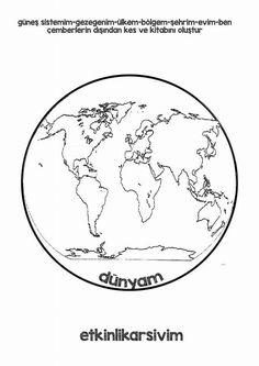 Dünya Montessori, Geography, Kindergarten, Preschool, Activities, Kids, Instagram, School, Continents