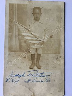 Vintage Black Americana Photo RPPC by ThatVintagePhotoShop