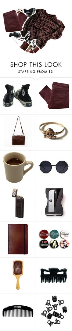 """charlie"" by xambergurlx ❤ liked on Polyvore featuring Converse, Helmut Lang, Retrò, Monkey Business, C.R. Gibson, Eva NYC, H&M, Tressa, Delfina and vintage"