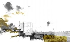 archisketchbook - architecture-sketchbook, a pool of architecture drawings, models and ideas - arch-studio: Chironne Moller (South Africa) -. Architecture Graphics, Architecture Drawings, Architecture Portfolio, Art And Architecture, Architecture People, Photomontage, Photoshop Rendering, Landscape And Urbanism, Watercolor Architecture