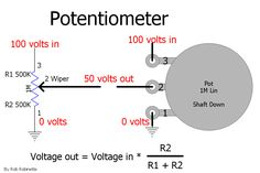 How Tube Guitar Amplifiers Work Diy Guitar Amp, Ac Capacitor, Voltage Divider, Guitar Cabinet, Education Sites, Electronic Schematics, Diy Electronics, Circuit, Raspberry