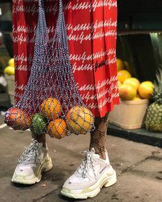 1,766 отметок «Нравится», 48 комментариев — Grece Ghanem (@greceghanem) в Instagram: «Tutti Frutti » Balenciaga sneakers shoes fashion