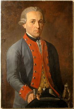 18th century Portrait of an Unknown Officer sold at Goldberg Coins and Collectibles