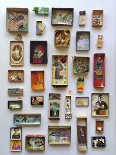 Beautiful OOAK art boxes