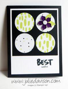 "April 2017 Paper Pumpkin: 4 Alternative ""A Sara Thing"" Card Designs ~ www.juliedavison.com"