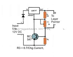 Laser Diode Driver Circuit - Current Controlled