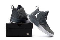2fb3fbbdd602 Jordan Super.Fly 5 Cool Grey Wolf Grey White Men s Basketball Shoe