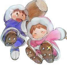 Ice Climber, Polar Bear, Teddy Bear, Climbers, Smurfs, Sonic The Hedgehog, Nintendo, Art Pieces, Childhood