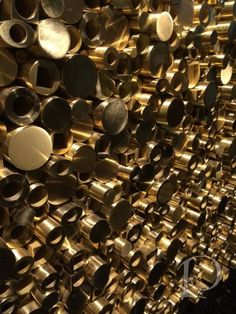 Gessi brass fittings | BlogTour Milan