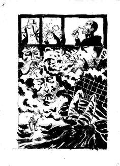 """SHOCKDOM: DARIO MOCCIA SVELA LA PRIMA TAVOLA DI """"AGORAFOBIA"""" http://c4comic.it/2015/05/11/svelata-la-prima-tavola-di-agorafobia-primo-fumetto-dello-youtuber-dario-moccia/"""