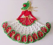 Ms Poppy Crinoline Girl Doily
