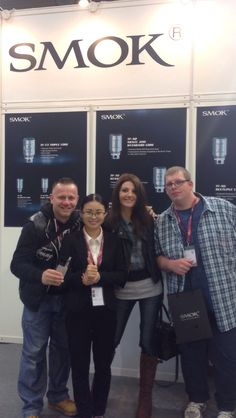 Visiting Freda from SMOK. Nice Meeting You guys !