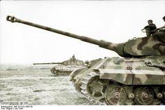 PzKpfw VI Tiger Ausf. B Tiger II with Porsche turret in France 1944