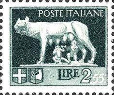 Capitoline Wolf (Lupa capitolina), Rome, Italy - Philatelic Photographs on Waymarking.com