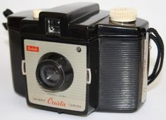 Vintage Camera Kodak Brownie Cresta I Good Condition Kodet Lens UK SELLER