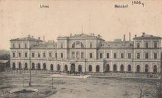 Bahnhof Libau 1902