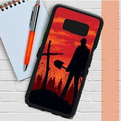Walking Dead Orange Sky Cross Samsung Galaxy S8 Plus Case Casefreed