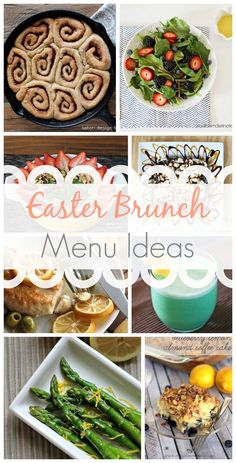 Easter Brunch Menu Ideas (Link Party Features):