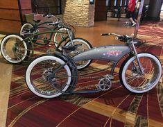Cruiser Bicycle, Motorized Bicycle, Bobber Bikes, Rat Bikes, Custom Motorcycles, Custom Bikes, Gas Powered Bicycle, New Electric Bike, Lowrider Bicycle
