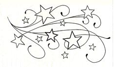 Cool things for kids to draw cool easy designs to draw on paper for Cool Easy Designs, Simple Designs To Draw, Star Tattoo Designs, Star Designs, Star Tattoos, Cute Tattoos, Tattoo Stars, Tatoos, Awesome Tattoos