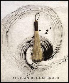 mark making - Handmade African Broom Fiber Inches Long Total) Paint Brush – Elizabeth Schowachert Art Brush Texture, Grafik Art, Creation Art, Painting Tools, Mark Making, Calligraphy Art, Paint Brushes, Makeup Brushes, Painting Techniques