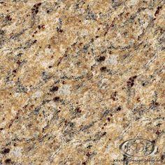 Giallo Veneziano Gold Granite  (Kitchen-Design-Ideas.org)